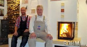 Firmengründer Jürgen Böhm (re.) mit Sohn Christian